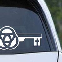 Trinity Key Christian Die Cut Vinyl Decal Sticker