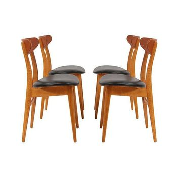 Pre-owned Danish Modern Dining Chairs by Hans J. Wegner