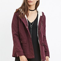 Hooded Plush Jacket
