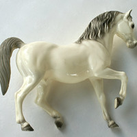Prince - Breyer Horse Figurine - White and Gray Arabian Stallion
