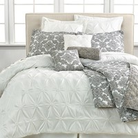 Jasmin White 10 Piece Comforter Sets