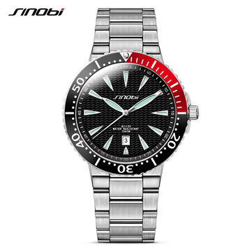 Dive Watches Waterproof Stainless Sports Strap
