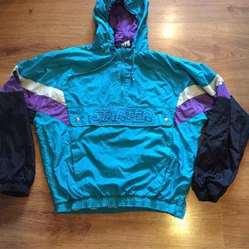 Vintage starter wind breaker size medium