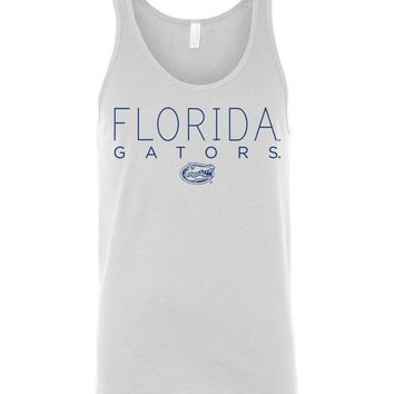 Official NCAA University of Florida Gators The Orange and Blue GATOR NATION! Unisex Tank - 65UF-1A