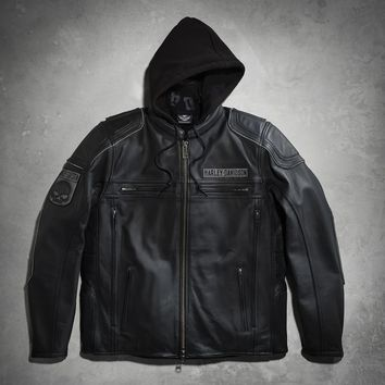 Auroral 3-in-1 Leather Jacket