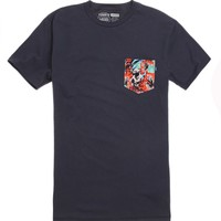 Vans - Star Wars Yoda Pocket T-Shirt - Mens Tee - Blue -