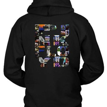 VONEED6 Pink Floyd All Albums Collection Hoodie Two Sided