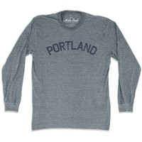 Portland City Vintage Long Sleeve T-Shirt
