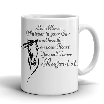 The Touch Of a Horse - Coffee Mug with FREE SHIPPING