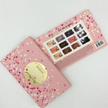 Too Faced To Be A Girl 12 Colors Heart Shape Eye Shadow [11885423439]