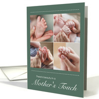 First Mother's Day with Collage of Mother's Touch card