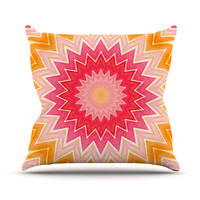 """Iris Lehnhardt """"You are my Sunshine"""" Throw Pillow, 16"""" x 16"""" - Outlet Item"""