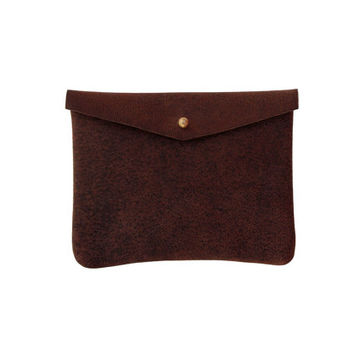 """Leather purse """"Marsel"""" 