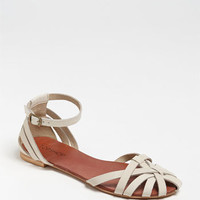 Topshop 'Happy' Cage Toe Sandal | Nordstrom