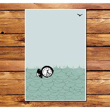 Time On The Ocean Poster