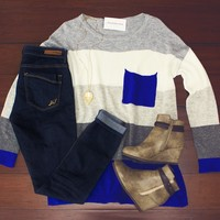 Playing For Keeps Sweater $42.00