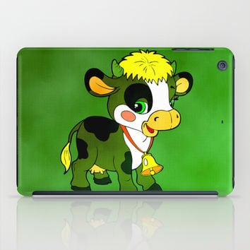 Childhood Cow iPad Case by Texnotropio
