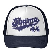 Obama 44 cap trucker hat