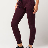FULL TILT Essential Marled French Terry Womens Jogger Pants | Pants + Joggers