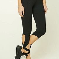 Active Tie-Back Capri Leggings