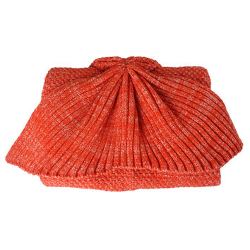 Mermaid Tail Sofa Thick Blanket Throw Woolen Blending Gift   orange    child