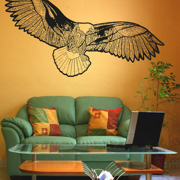 Vinyl Wall Decal Sticker Eagle Art #OS_AA1581