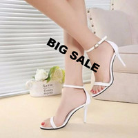 Woman Summer Shoes Supermodel T-stage Classic Dancing High Heel Sandals