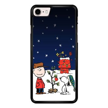 Charlie Brown Christmas Peanuts 001 iPhone 7 Case