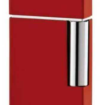 S.T. Dupont Ligne 8 Red Lacquer Traditional Flame Lighter