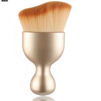 3 Colors Contour Foundation Brush S Shape Makeup Tools Cream Makeup Brushes Loose Powder Brush Multifunctional Brushes L7