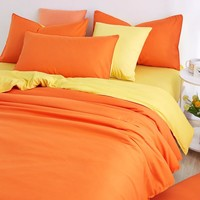 UNIKEA 2016 New Minimalist Pure Style Bedding Sets Bed Sheet and Duver Quilt Cover Pillowcase Soft and Comfortable King Queen Fu