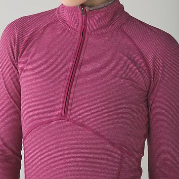 kriss cross 1/2 zip | women's long sleeves running tops | lululemon athletica