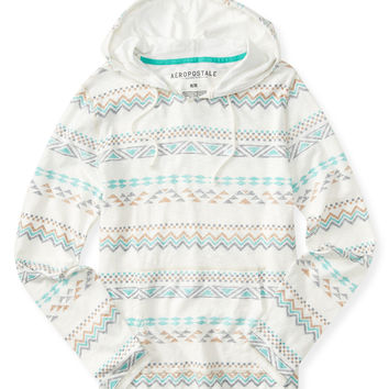 Southwest Stripe Hooded Tee