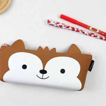 Kawaii Rabbit, Fox Pencil Cases, Cute Pencil Pouches, Cute School Supplies