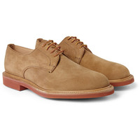 Mark McNairy Contrast-Sole Suede Derby Shoes | MR PORTER