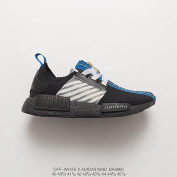 [ Free Shipping ] Off-White X Adidas NMD Sneaker
