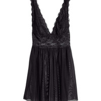 Lace Nightgown - from H&M