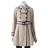 ELLE Double-Breasted Trench