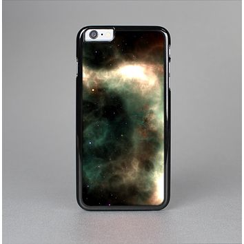 The Dark Green Glowing Universe Skin-Sert for the Apple iPhone 6 Plus Skin-Sert Case