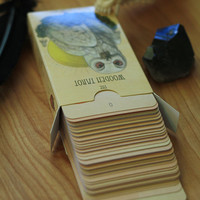 The Wooden Tarot Full Deck IN STOCK skullgarden