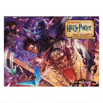 The Illustrations of Harry Potter by Mary GrandPré 2014 Poster Calendar |