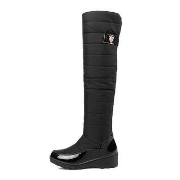 Masson High Fashion Snow Rain Boots
