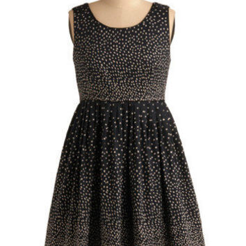 Sprinkled with Sweetness Dress in Navy | Mod Retro Vintage Printed Dresses | ModCloth.com