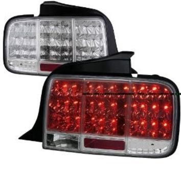 Ford Mustang Sequential Led Taillights - Chrome Performance Conversion Kit