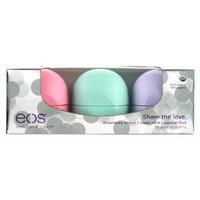 Amazon.com: Eos Share the Love Smooth Sphere Holiday Box, Strawberry Sorbet, Sweet Mint and Passion Fruit: Health & Personal Care