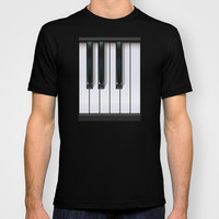 Piano T-shirt by Rob Snow