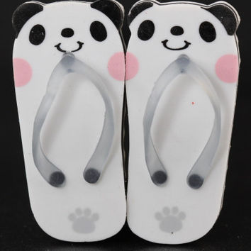 Pair of Panda Sandal Erasers