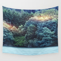 Into the wild 01 Wall Tapestry by vivianagonzalez