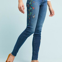 AG The Farrah High-Rise Skinny Jeans