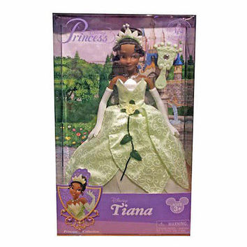 disney parks princess tiana with jeweled hair brush doll toy new with box